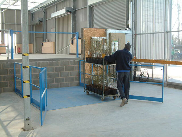 Lifts for Production Packaging