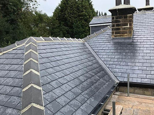 Roof Ridge Work