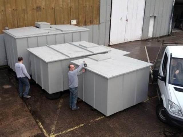 One Piece GRP Storage Tanks