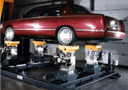 4-Poster Vehicle Test Systems