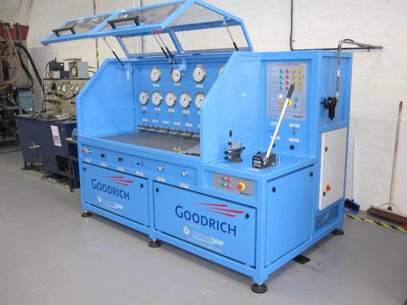 Hydraulic Test Equipment : Control gear group ltd pneumatic equipment suppliers air