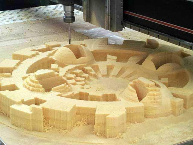 3D CNC Milling