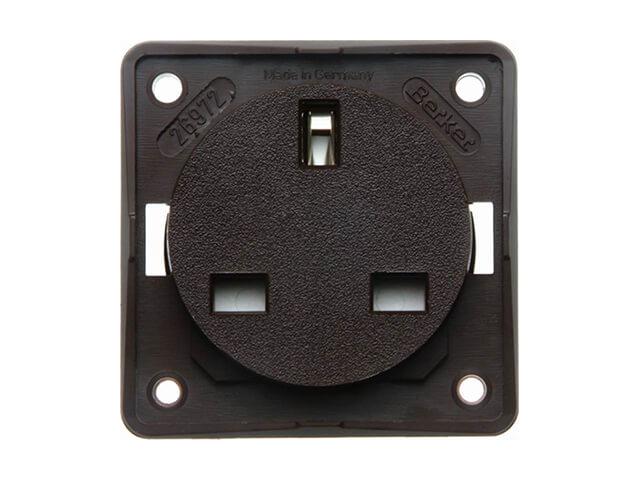 Berker UK socket outlet