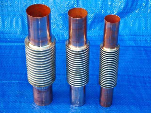 Copper Ended Expansion Joints