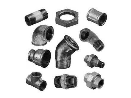 Malleable Iron Fittings Black And Galvanised