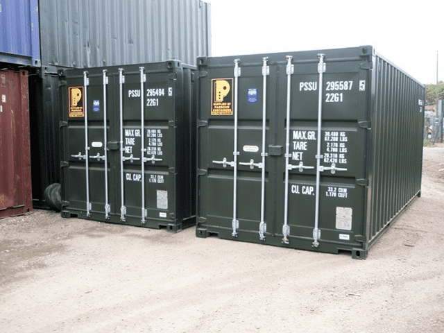 Parsons New 20ft Containers