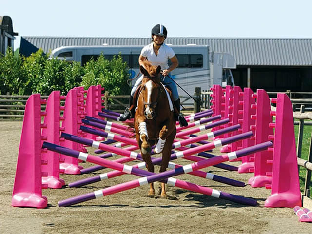 Plastic Show Jumping Sets
