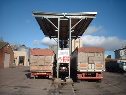 Lorry Sheeting Gantries