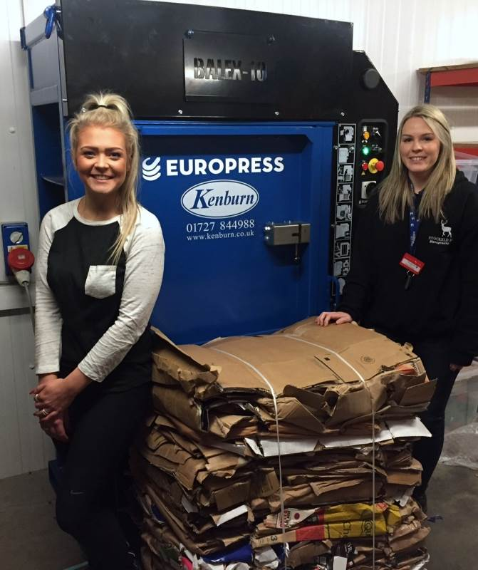 Stockeld Park reduce waste costs with Europress Balex 10 Baler