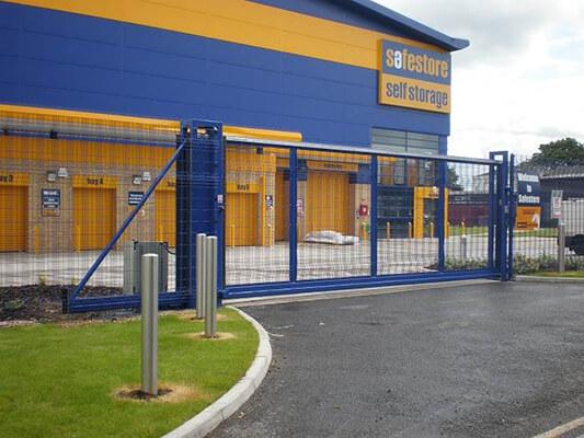 Automatic Sliding Security Gates