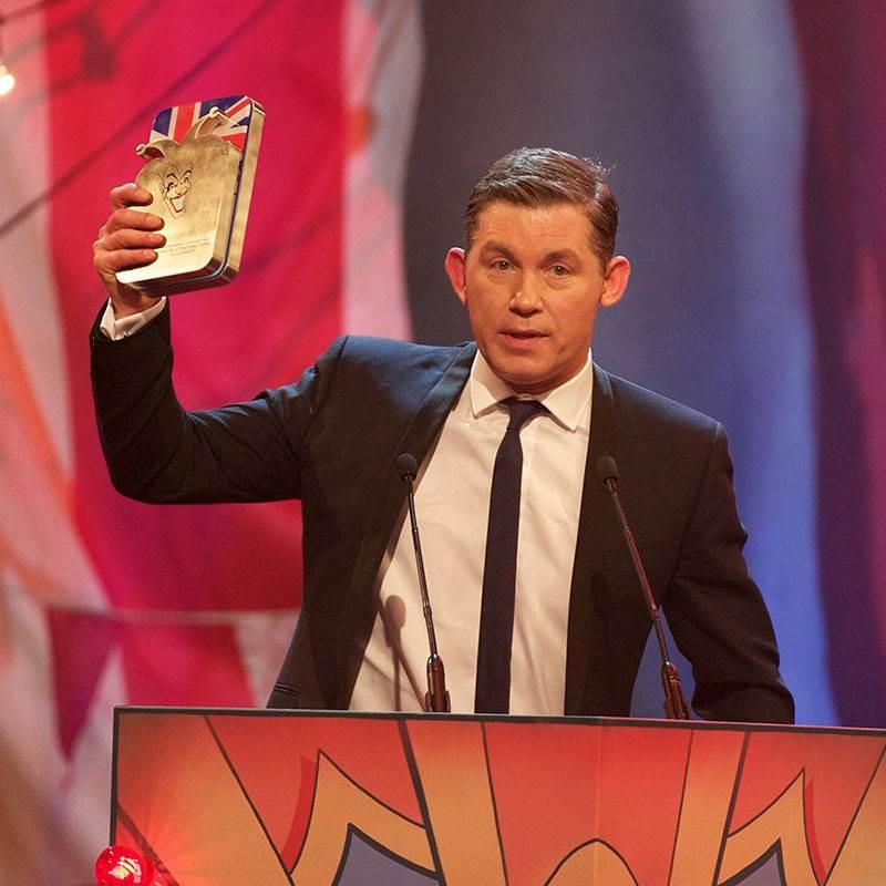 British Comedy Award - Bespoke Design by EFX