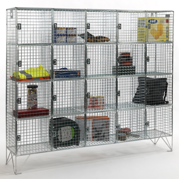 Compartment Wire Mesh Lockers