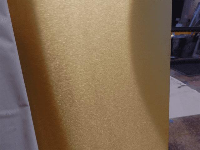 Brushed Brass Sheet