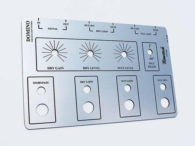 Control Panels Legends Inserts