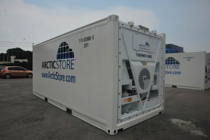 Refrigerated containers for hire and sale