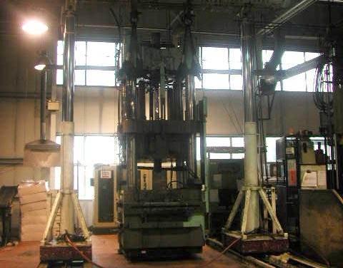Machine Relocation Using Hydraulic Gantry