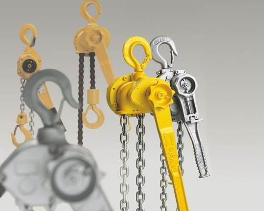 Lever Hoists, Pullifts and Chain Blocks