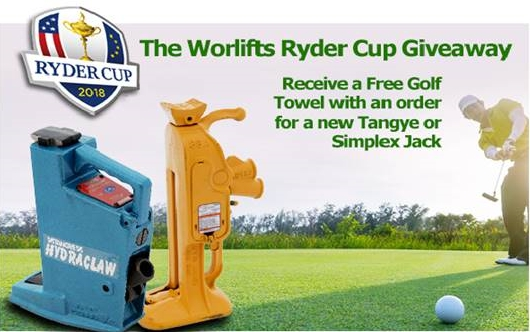 PROMOTION - The Worlifts Ryder Cup Giveaway